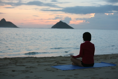 Quiet Time @ Lanikai Beach