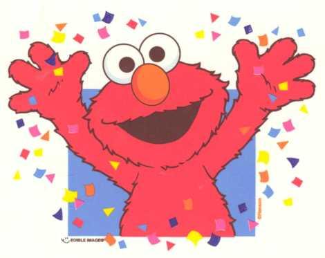 Elmo Confetti